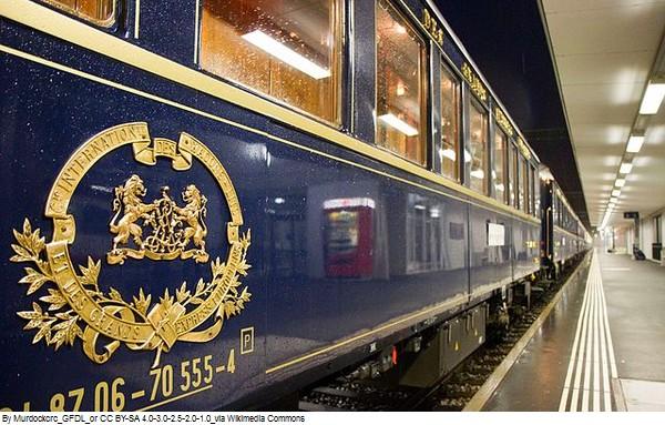 Atlantide - Voyages ; Italie, Venise à bord du Simplon Orient Express